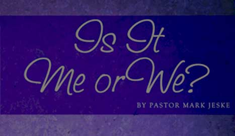 This month's featured booklet - Is It Me Or We