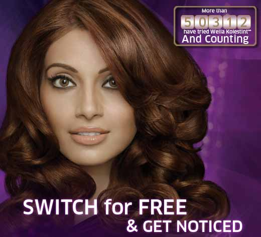Get Free Pack of Wella Kolestint hair colour
