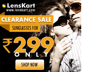 Get Vincent Chace Sunglass in Rs.299 Clearance sale at lenskart