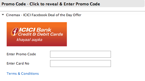 Icici bank forex promotion code