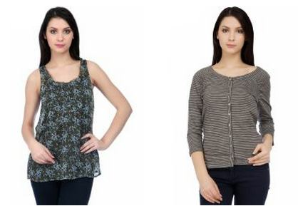 Get S Oliver Women's Top starting at just Rs.359 with Free Shipping & COD