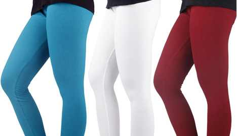 Set of 3 Clyde Leggings for women of Rs.1197 at Rs.349 (Rs.116 Each)