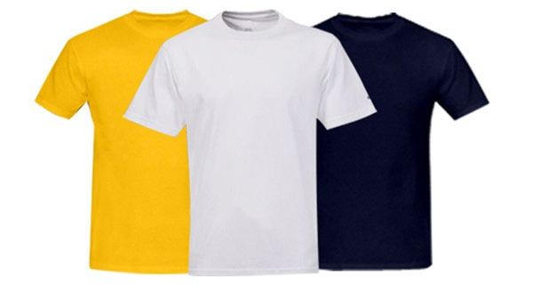 Set of 3 Cotton T-Shirts