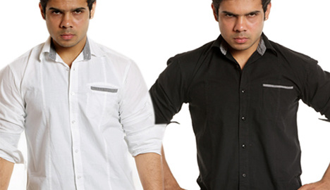 Flip Curve Casual Shirt Set of 2 Combo at just Rs.225 each