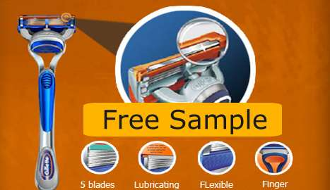 Gillette Fusion Free Sample