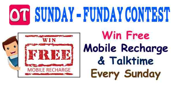 Win Free Mobile Recharge