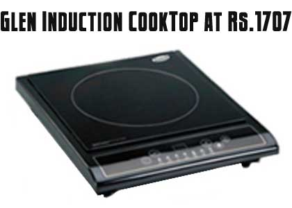 Glen 3070 Induction CookTop at just Rs.1707   IndiaTimes Deal of the day kitchen appliances