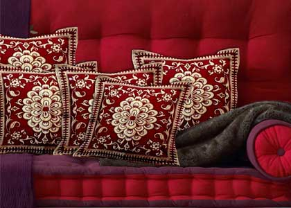 Set of 5 Designer Cushion Cover at Just  ₹ 249 - Daily Cracker Deal