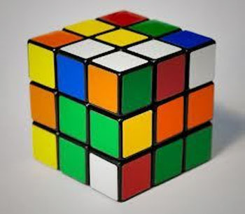 Set of 2 RUBIK Cube 3x3x3 Puzzle Game at Rs.99 with Free shipping
