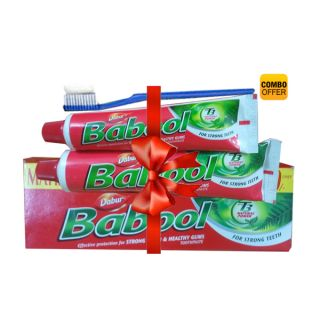 Dabur Babool Maha Bachat Pack at just Rs.38 Only personal care