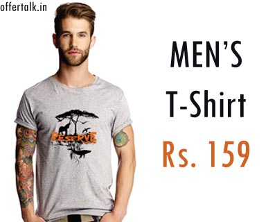 Branded Inkwire Mens T Shirts at Just Rs.159 Only (Shipping Induced) mens apparel
