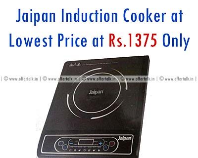 Jaipan Induction Cooker 3003 at Rs.1375 Only with 1 year Warranty kitchen appliances