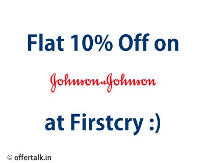 Johnson and Johnson 10% Off