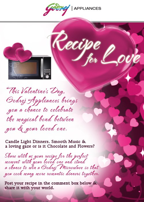 Win a MicroWave for your Valentine (India)