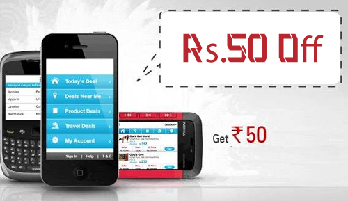 Mobile Recharge Coupon Rs. 50=Rs.100. Only One Coupon Per User.
