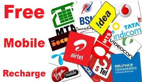 Free Mobile recharge by sending sms