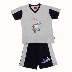 Get Clifton Bean and Plane Boys Short Set Rs.139 (Free shipping)