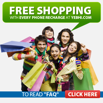 Yebhi Discount Rs. 10 on Recharge