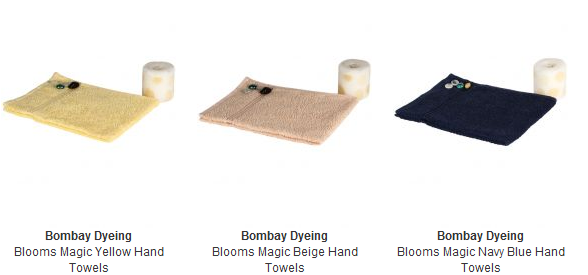 Get Bombay Dyeing Towels in just Rs.68 with Cash on Delivery