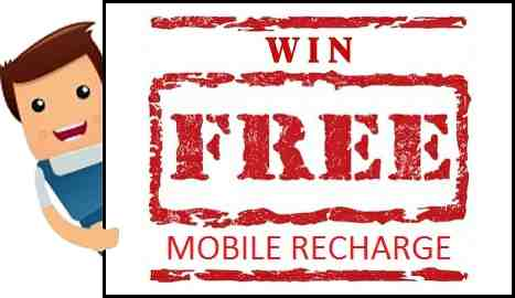 Free Mobile Recharge Contest