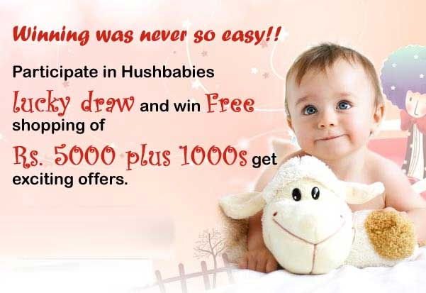 Get Win Rs.5000 & Special Offer for every participant at Hushbabies
