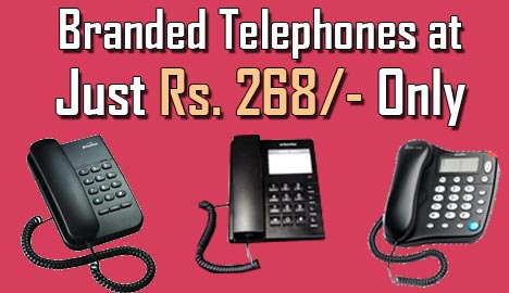 Get New Branded Telephone at Just Rs. 268 Only