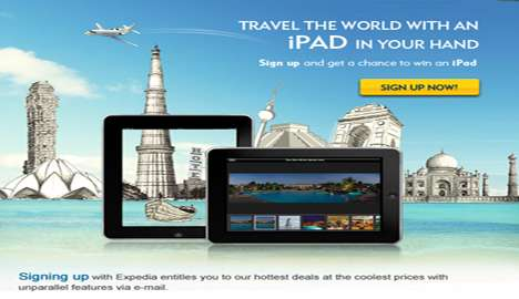 Sign up and Get a chance to win iPad