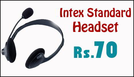 Intex Standard Headset with Microphone