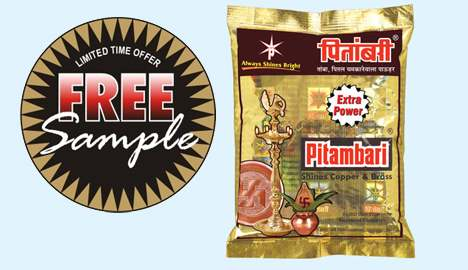 Get Free Sample of Pitambari Shining Extra Powder