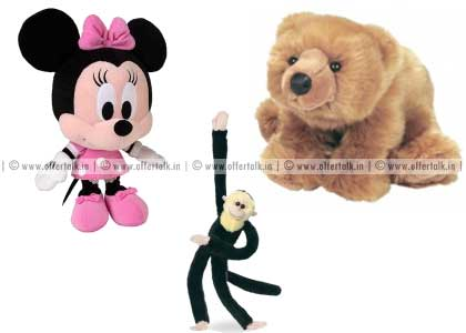 Soft Toys 25% off
