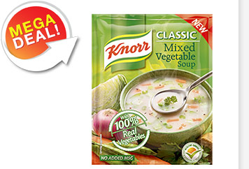 Knorr Classic Mixed Vegetable Soup