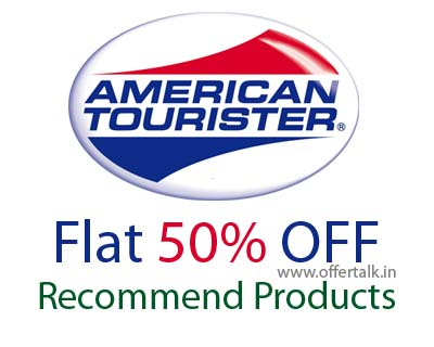 american tourister 50% off